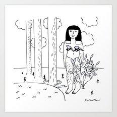 Go Wild Art Print