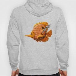Steampunk Butterflyfish II Hoody