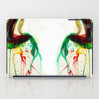 coldplay iPad Cases featuring Lost by Santa Norvaisaite