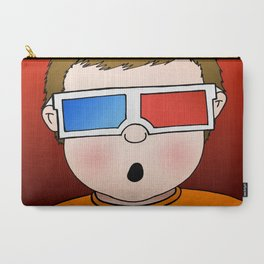 3D Popcorn Kid Carry-All Pouch