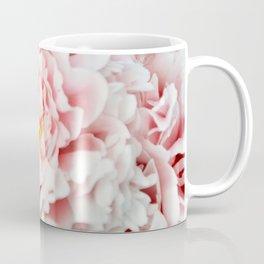 Peony Flower Photography, Pink Peony Floral Art Print Nursery Decor A happy life - Peonies 2 Coffee Mug