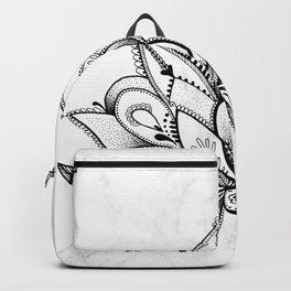 Boho Lotus Backpack