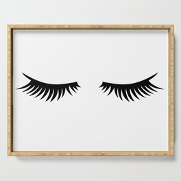Lashes Serving Tray
