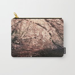 Light reflected in black water Carry-All Pouch