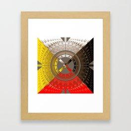 The Four Direction Framed Art Print
