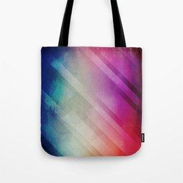 Vivid - Colorful Geometric Mountains Texture Pattern Tote Bag