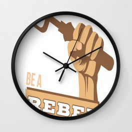 Join The Gardening Revolution Wall Clock