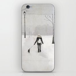 Winter Walk iPhone Skin