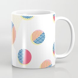 Japanese Patterns 01 Coffee Mug
