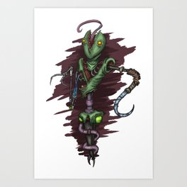 Squirmsy Art Print