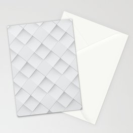 Losange Blanc Stationery Cards