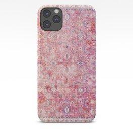 Pink Vintage Antique Oriental Traditional Moroccan Original Artwork iPhone Case