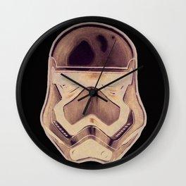 The Chrome Stormtooper Wall Clock