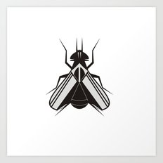 The fly Art Print