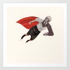 Superheroes series 2 Art Print