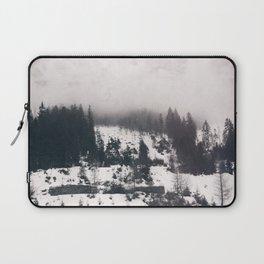 winter photo #winter #blackandwhite #photography Laptop Sleeve