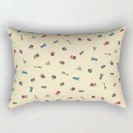 Aloha Tiki Time Rectangular Pillow