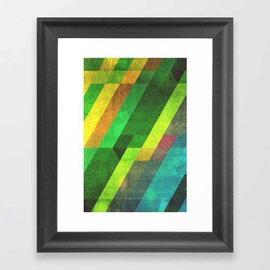 lyyn wyrk Framed Art Print