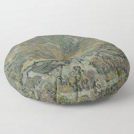 Reminiscence of Brabant Floor Pillow