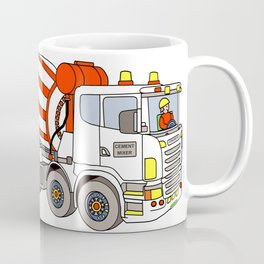 Cement Mixer Coffee Mug