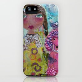Phoebe & Poof - Whimsies of Light Children Series iPhone Case