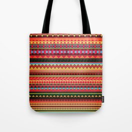 Bulgarian Rhapsody Pattern Tote Bag