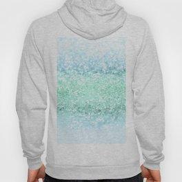 Aqua Seafoam Ocean Glitter #1 #shiny #pastel #decor #art #society6 Hoody