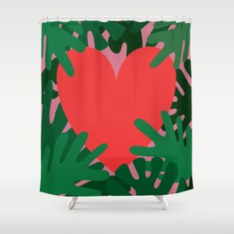 Wild Does My Love Grow Shower Curtain