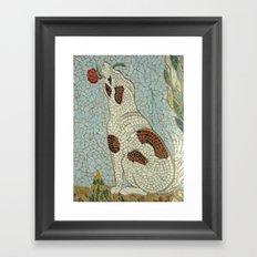 Amores Perros Framed Art Print