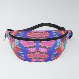 Pineal 3rd Eye Groove Mind Dance Soul Print Fanny Pack