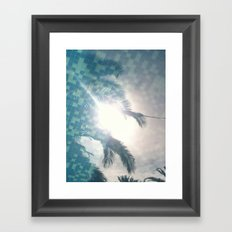 Reflections In The Pool Framed Art Print