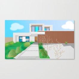 Modern Home No. 6 Canvas Print