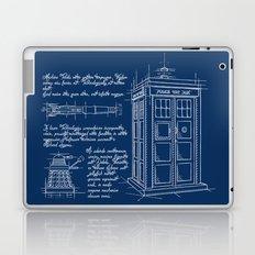 Plan Tardis Laptop & iPad Skin