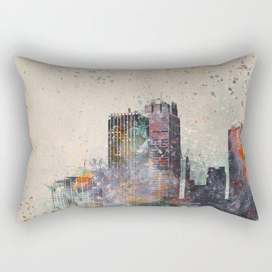 Crazy City Rectangular Pillow