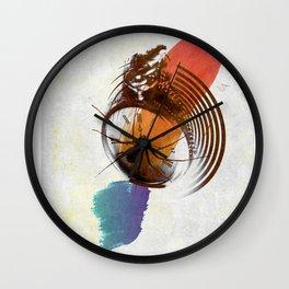 time art Wall Clock