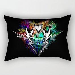 Chiptunes = Win: Upgrade Rectangular Pillow