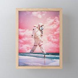 Passing Framed Mini Art Print