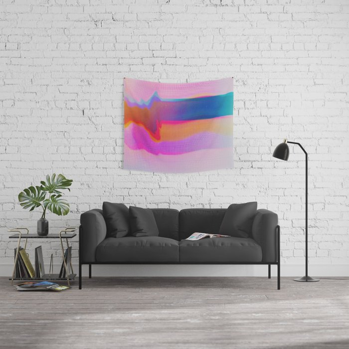 Glitch 24 Wall Tapestry