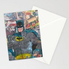 Vintage Comic Bat man Stationery Cards