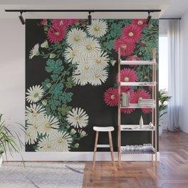 Ohara Koson - Chrysanthemums Wall Mural
