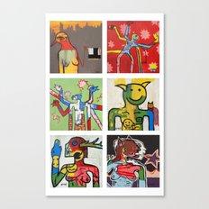 6 Pack 001 Canvas Print