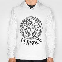 versace Hoodies featuring Versace Noir by Goldflakes