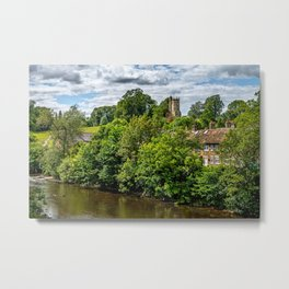 The Culloden Tower Richmond Yorkshire Metal Print