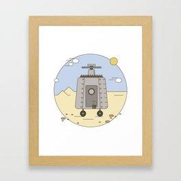 Pepelats. Russian science fiction. Framed Art Print