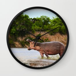 The Call (Of The Wild) Wall Clock