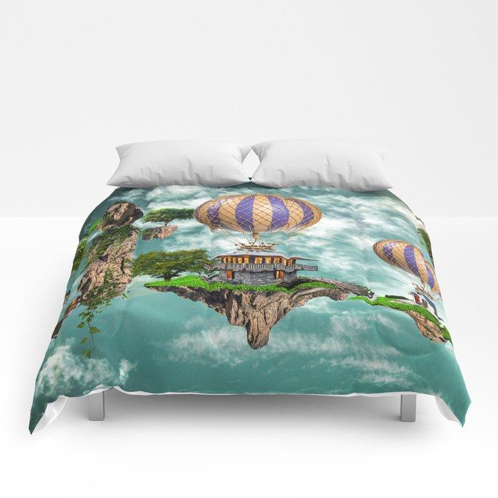 Balloon House Comforters