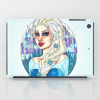 elsa iPad Cases featuring Elsa by Little Lost Forest