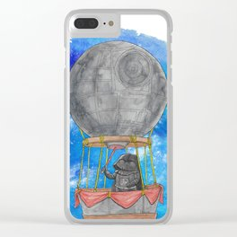 Wizard Darth Vader of Oz Clear iPhone Case
