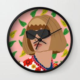 Anna Wintour Wall Clock