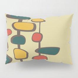 Mid Century Modern Baubles (gold) Pillow Sham